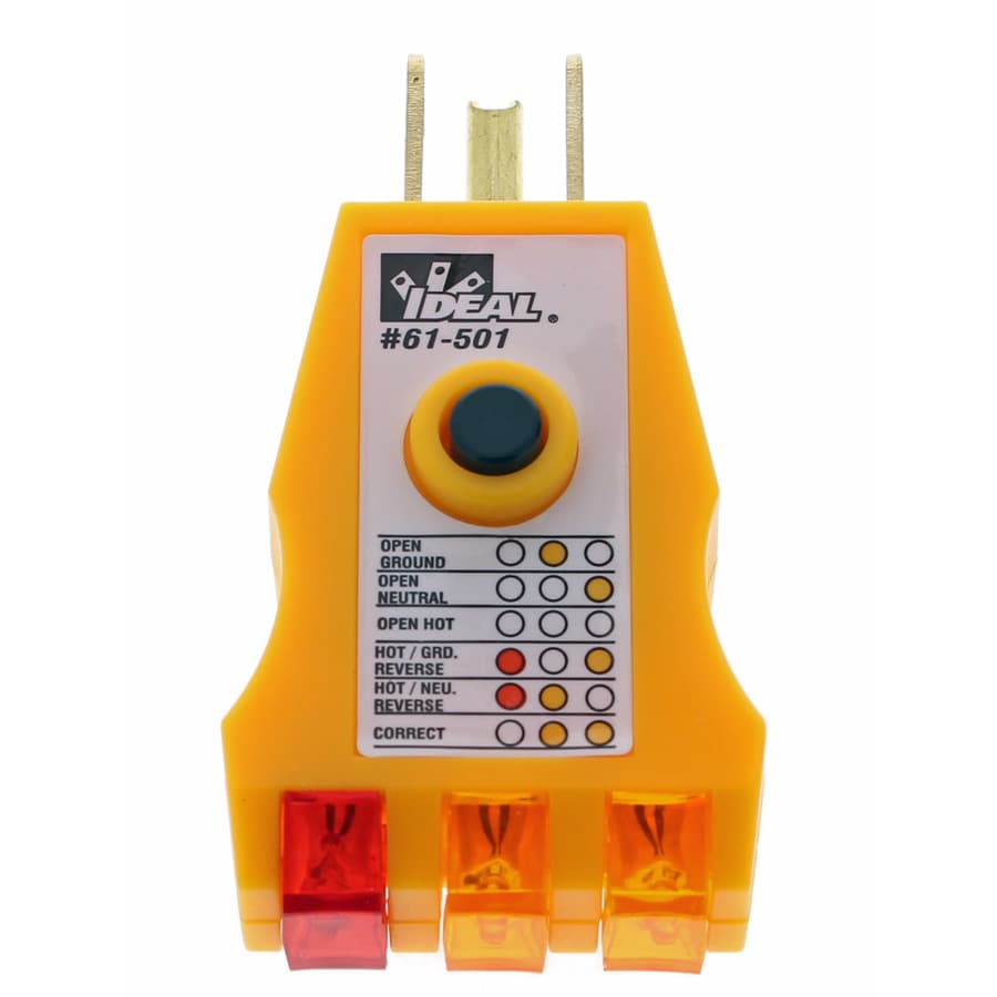 IDEAL Analog 120-Volt Voltage Detector Meter