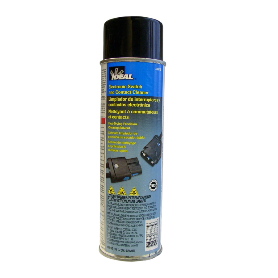 Ideal Cleaning Electrical Switch And Contact Cleaner At Picture