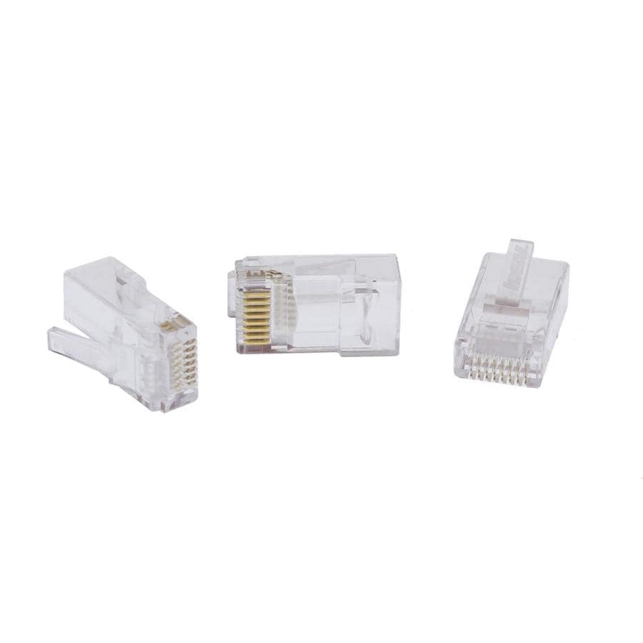 Voice Data Connectors At Cat6 Patch Panel Wiring Diagram Ideal 25 Pack Rj45 Cable