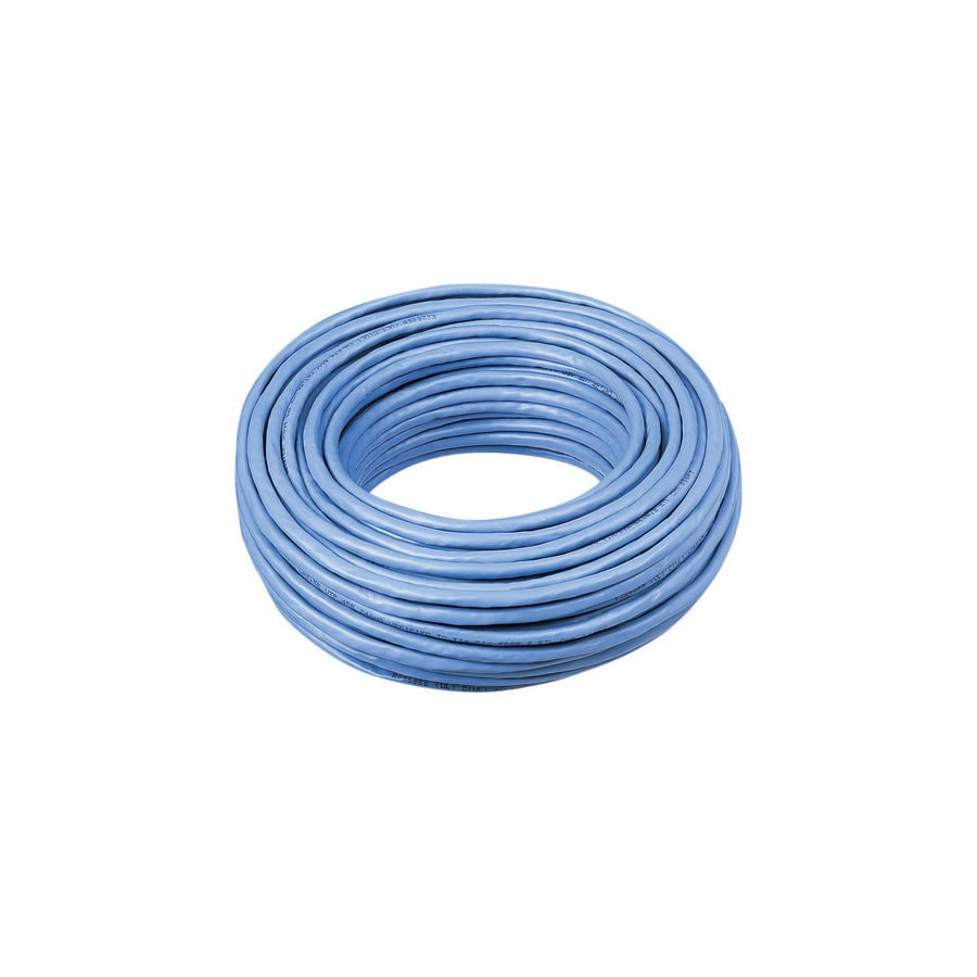 IDEAL 100-ft CAT 5E Blue Data Cable