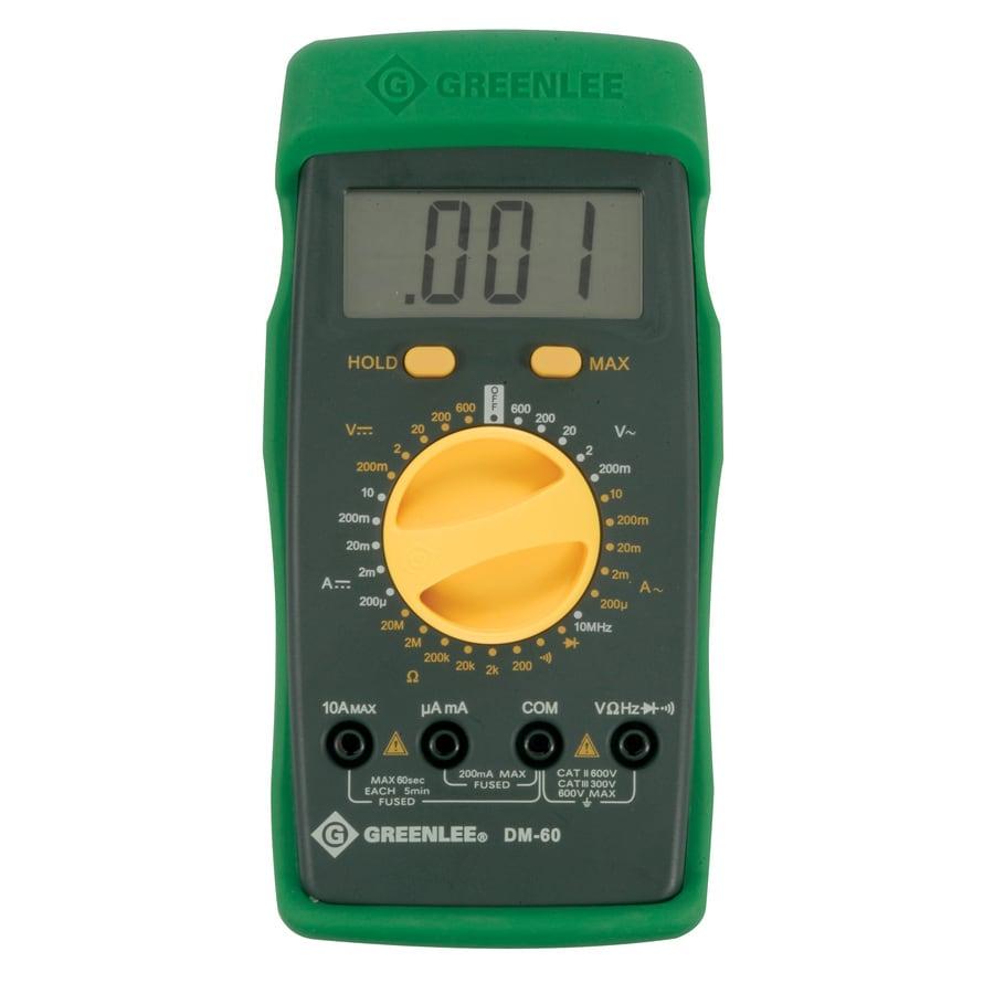 Electrical Multimeters At Lowe S : Shop greenlee digital multimeter at lowes