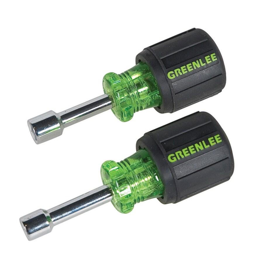 Greenlee 2-Piece 2-1/4-in SAE 1-Way Nut Driver Set