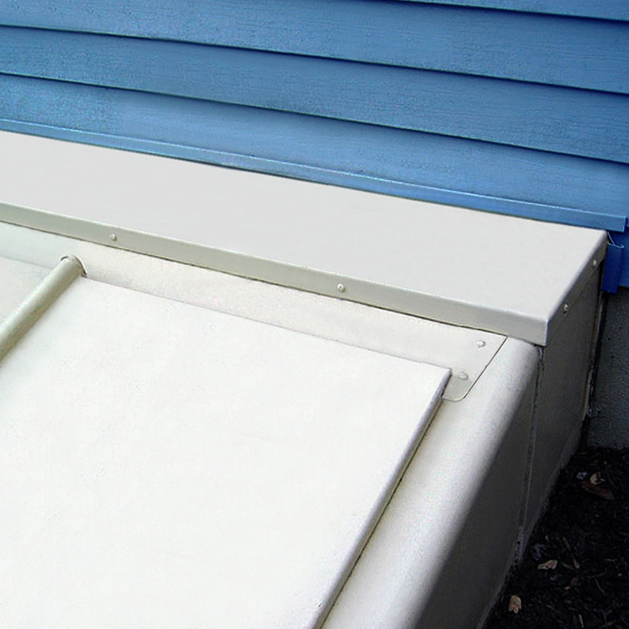 shop bilco 12 in powder coat white extension kit at