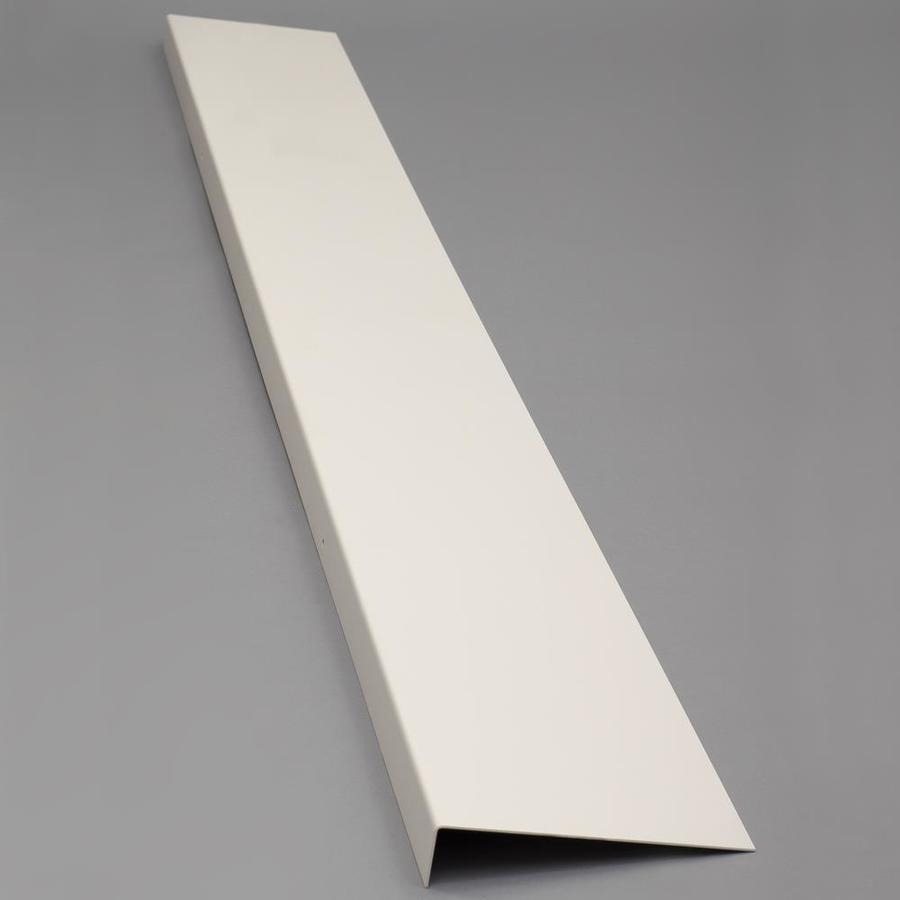 Bilco 8-in x 72-in Powder Coat White Foundation Plate