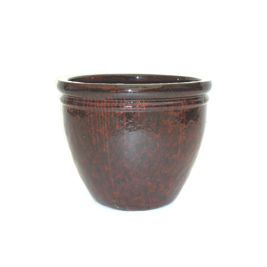 21-in x 17-in Ceramic Classic Planter