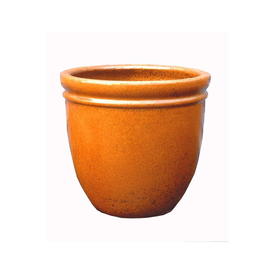 12.5-in x 10-in Ceramic Classic Planter