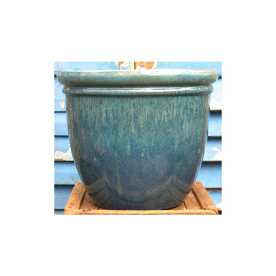 14.5-in x 12-in Ceramic Classic Planter
