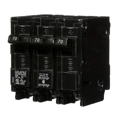Siemens Qp 70-Amp 3-Pole Main Circuit Breaker at Lowes com