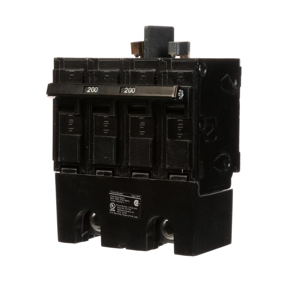 Siemens QP 200-Amp 1-Pole Main Circuit Breaker