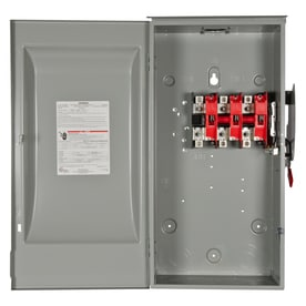 Shop Breaker Box Safety Switches at Lowes.com on meter socket wiring diagram, car amp installation diagram, amp gauge wiring diagram, 200 amp disconnect installation, 200 amp electrical disconnect, service panel diagram, 200 amp electric service, 200 amp disconnect with meter, 200 amp disconnect breaker, 200 amp wiring requirements, 200 amp disconnect parts, amp meter wiring diagram, 200 amp service disconnect, 200 amp main breaker panel, 200 amp disconnect accessories, meter base wiring diagram, 200 amp disconnect box, bridged amp diagram, 50 amp service wiring diagram, 200 amp disconnect dimensions,