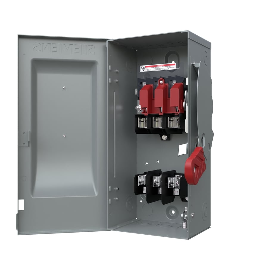 Shop Siemens 30 Amp Fusible Metallic Safety Switch At