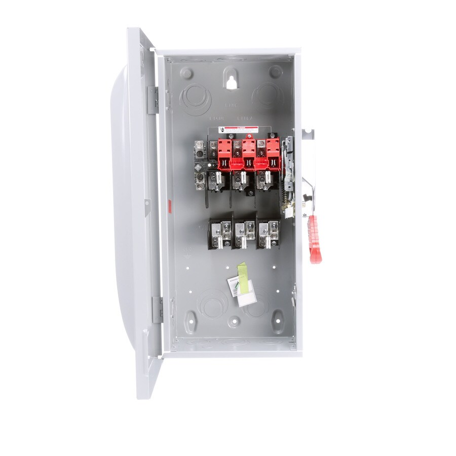 Siemens 100-Amp Fusible Metallic Safety Switch