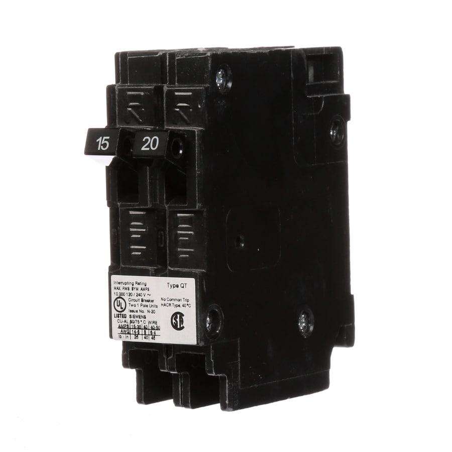Siemens QP 15-Amp 1-Pole Tandem Circuit Breaker