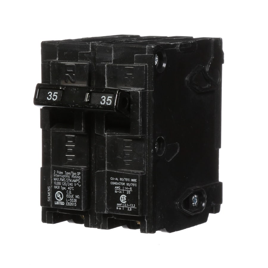 Siemens QP 35-Amp 2-Pole Circuit Breaker