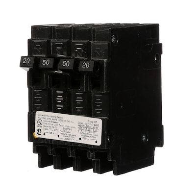 Siemens Qp 50-Amp 4-Pole Quad Circuit Breaker at Lowes com