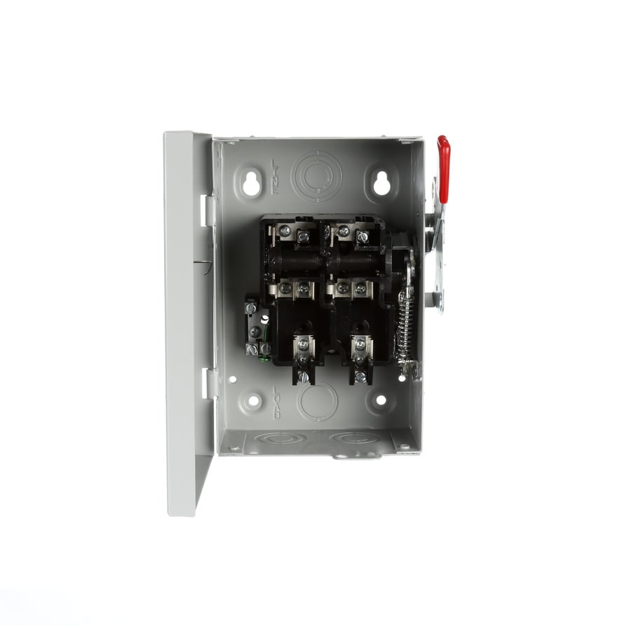 Siemens 30-Amp Fusible Metallic Safety Switch