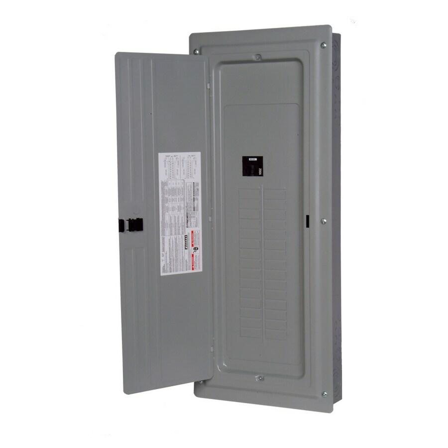 Siemens 40-Circuit 40-Space 200-Amp Main Breaker Load ...
