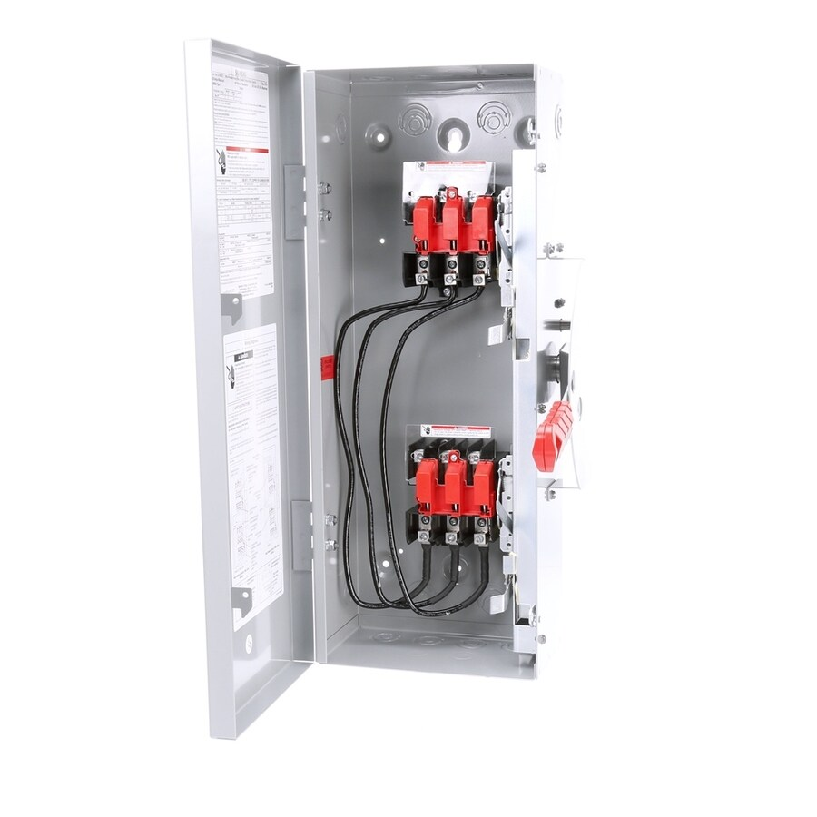Siemens 30-Amp Non-Fusible Metallic Safety Switch