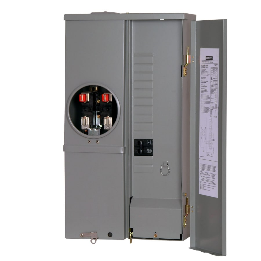 Outdoor Single Phase Meter Socket : Shop siemens amp ring single phase  meter