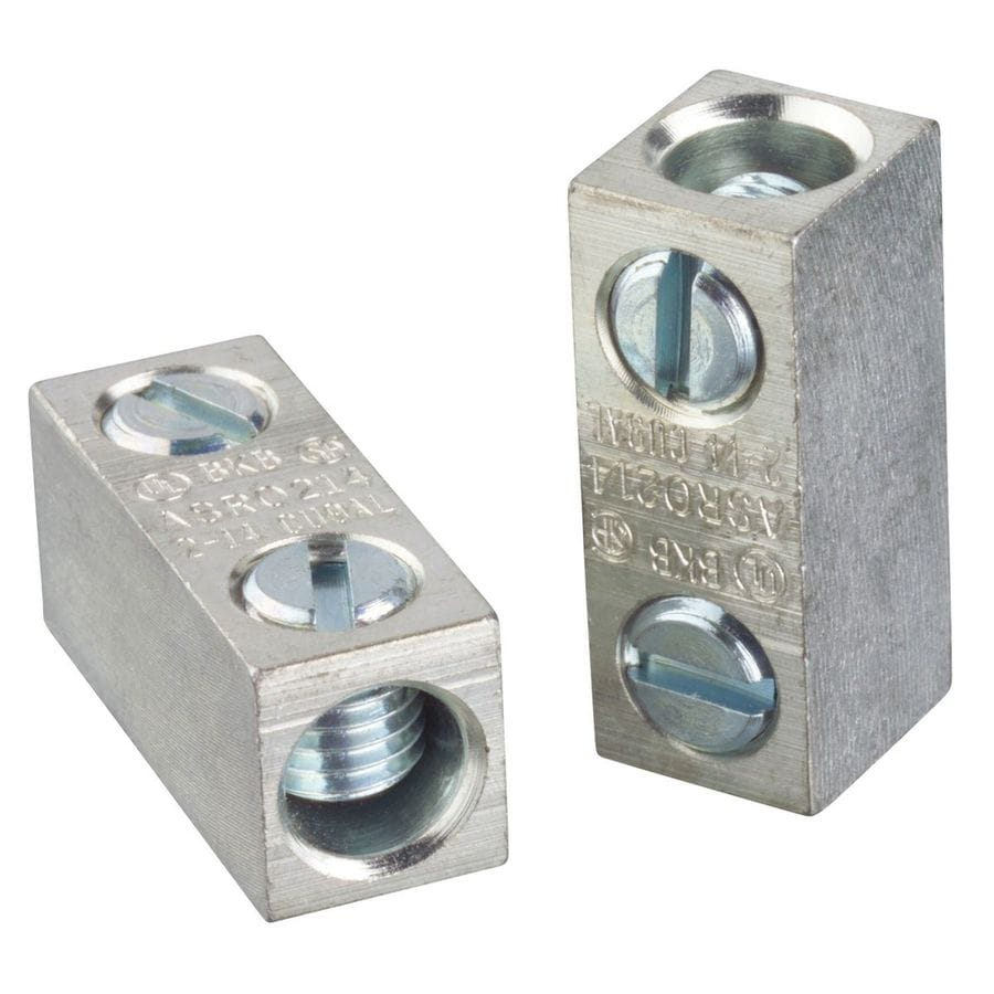 Shop Blackburn 0.8-in Aluminum and Copper Split Bolt at Lowes.com