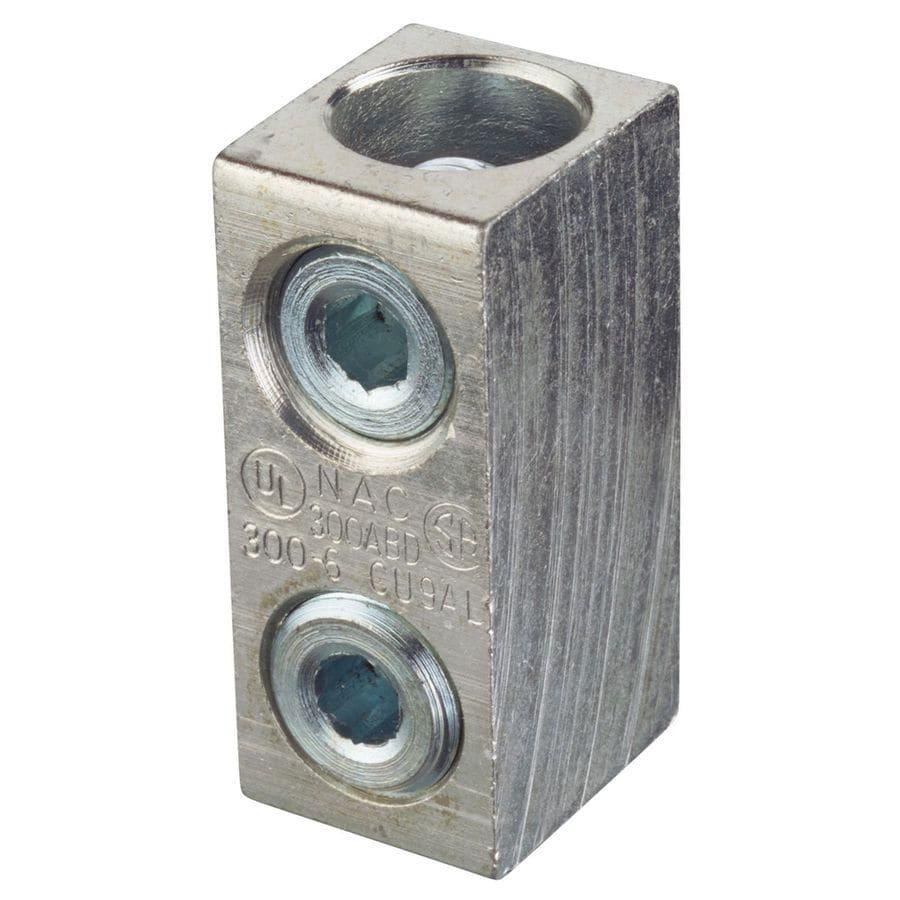 Shop Blackburn 0.5-in Aluminum and Copper Split Bolt at Lowes.com