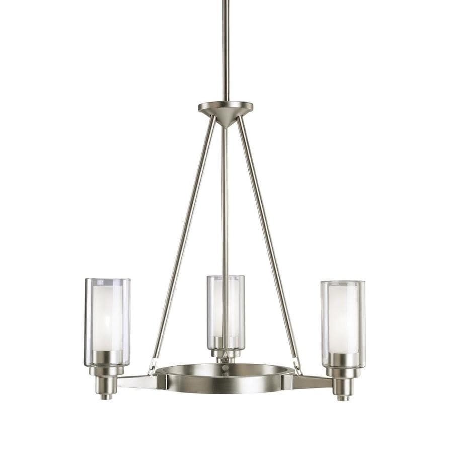 Kichler Circolo 3-Light Brushed Nickel Modern/Contemporary