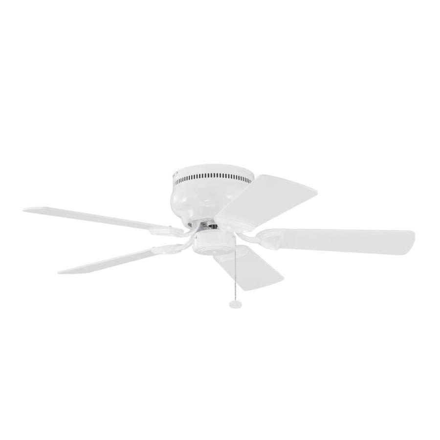 Kichler 42-in White Indoor Flush Mount Ceiling Fan (5 ...
