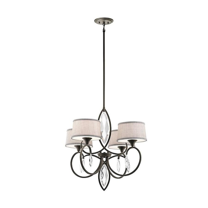 Kichler Casilda 4-Light Olde Bronze Transitional Chandelier $120.78