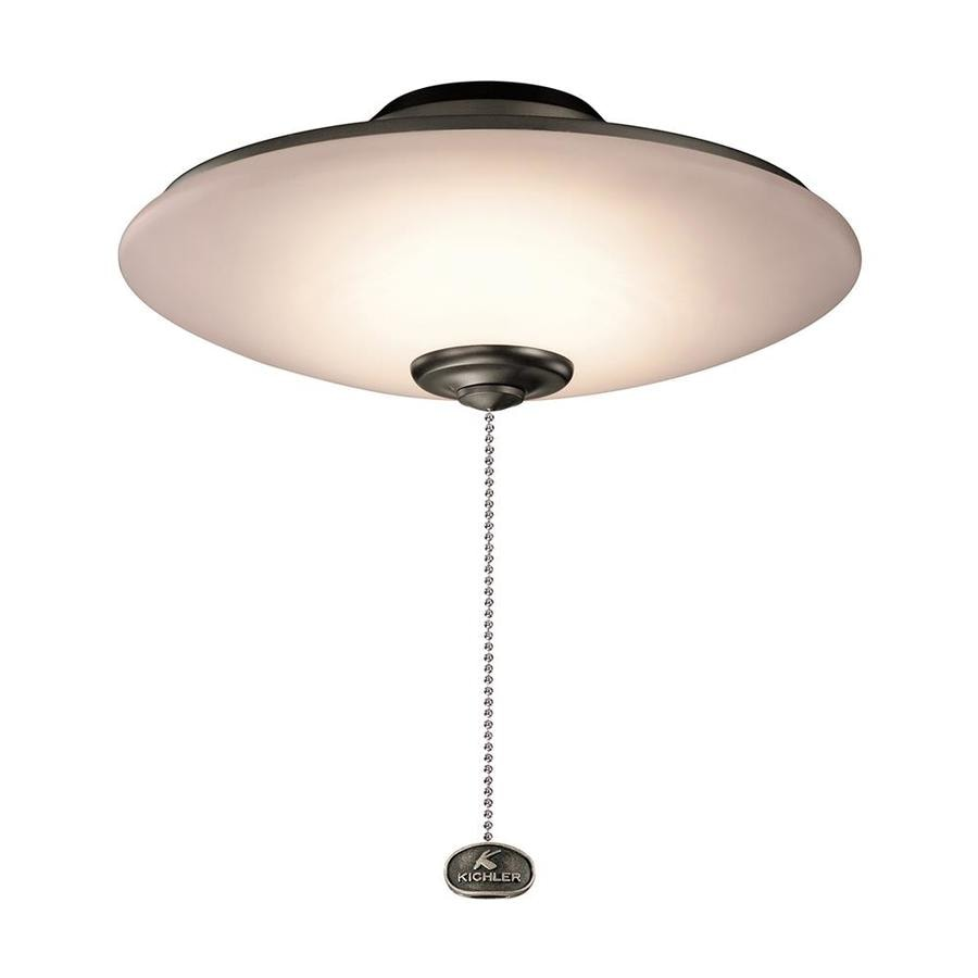 Kichler 11 5 In Low Profile Indoor Outdoor Led Ceiling Fan