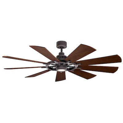 Kichler Farmhouse Ceiling Fans At Lowes Com