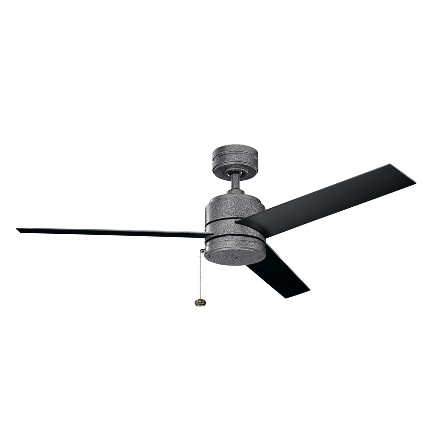 Kichler Arkwet 52 In Steel Indoor Outdoor Ceiling Fan 3