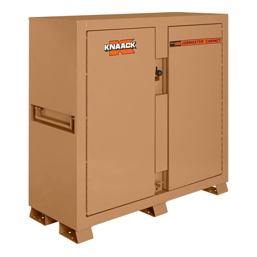 KNAACK 24-in W x 60-in L x 60-in Steel Jobsite Box