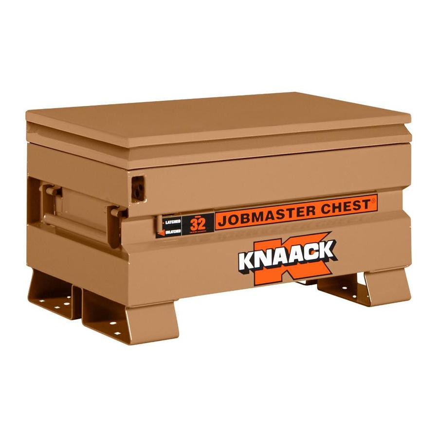 KNAACK 19-in W x 32-in L x 18.5-in Steel Jobsite Box