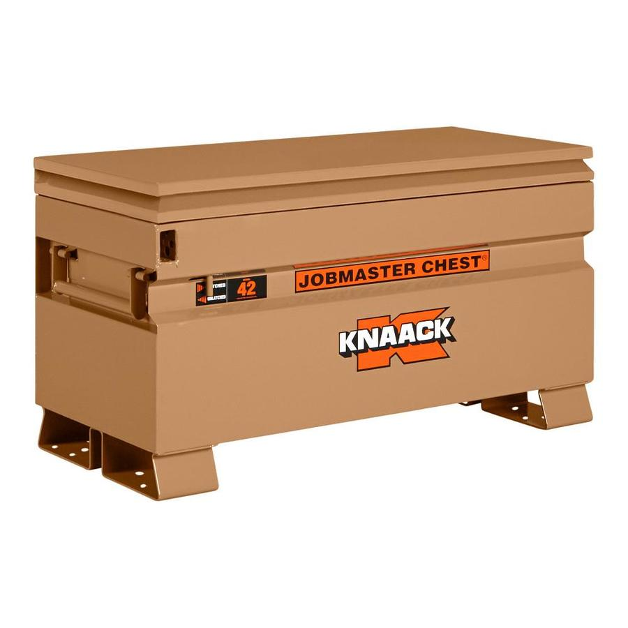KNAACK 19-in W x 42-in L x 23.375-in Steel Jobsite Box