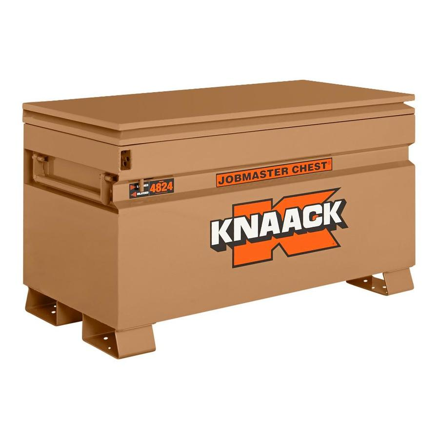 KNAACK 24-in W x 48-in L x 28.25-in Steel Jobsite Box