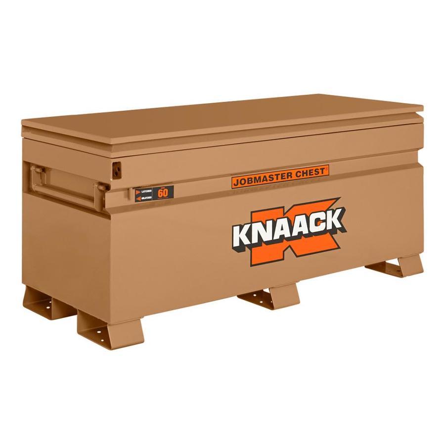 KNAACK 24-in W x 60-in L x 28.25-in Steel Jobsite Box