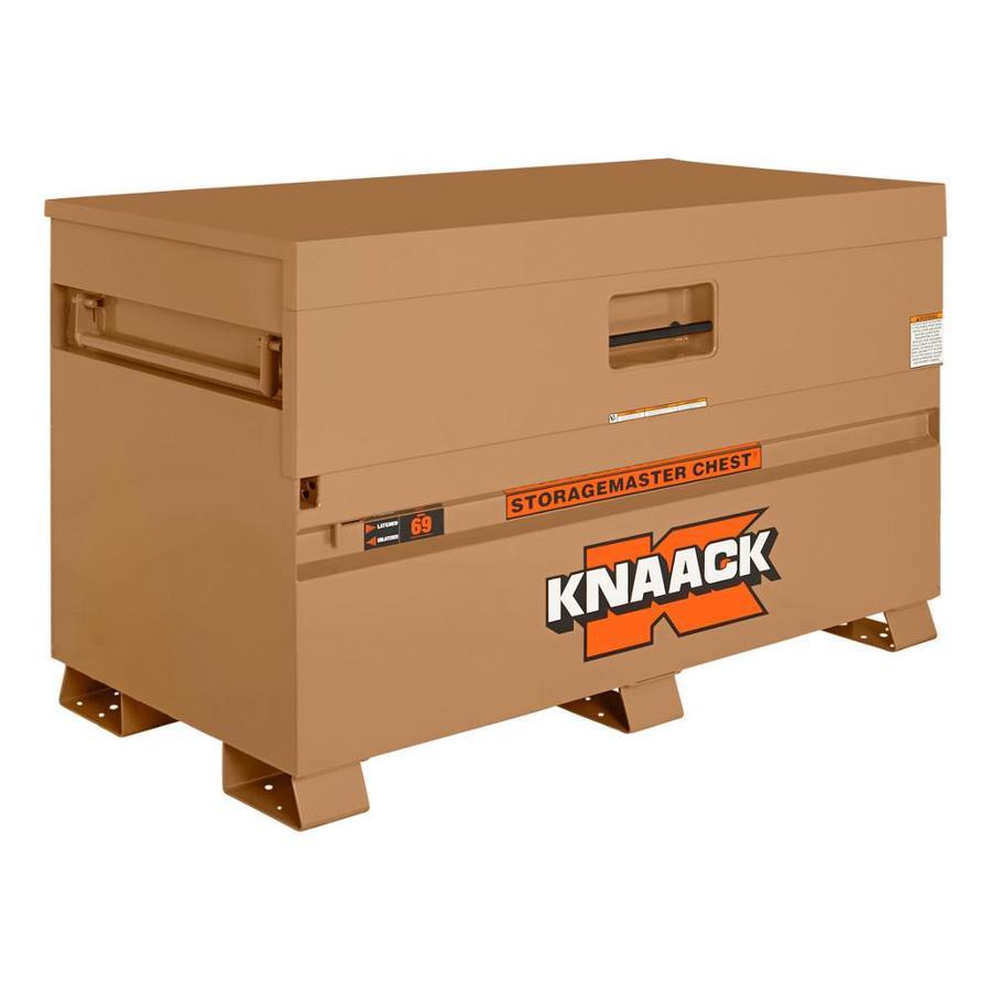 KNAACK 30-in W x 60-in L x 34.25-in Steel Jobsite Box