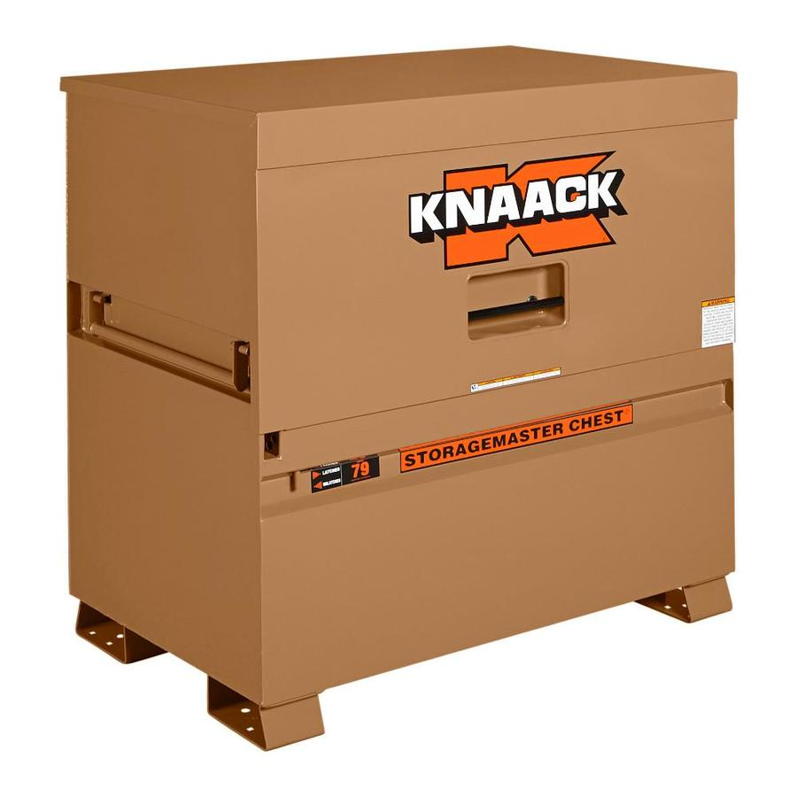 KNAACK 30-in W x 48-in L x 49-in Steel Jobsite Box