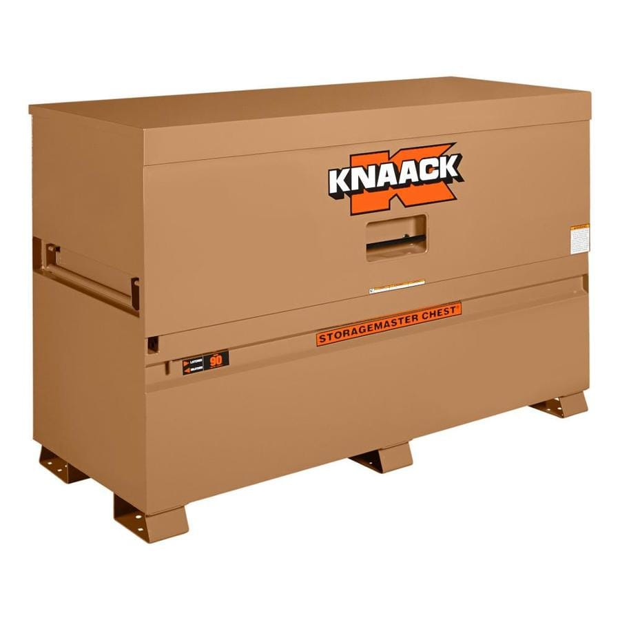 KNAACK 30-in W x 72-in L x 49-in Steel Jobsite Box