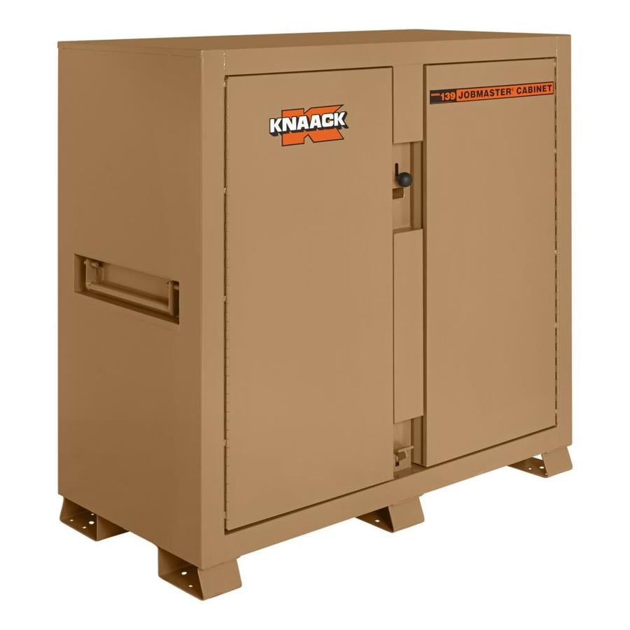 KNAACK 30-in W x 60-in L x 60-in Steel Jobsite Box