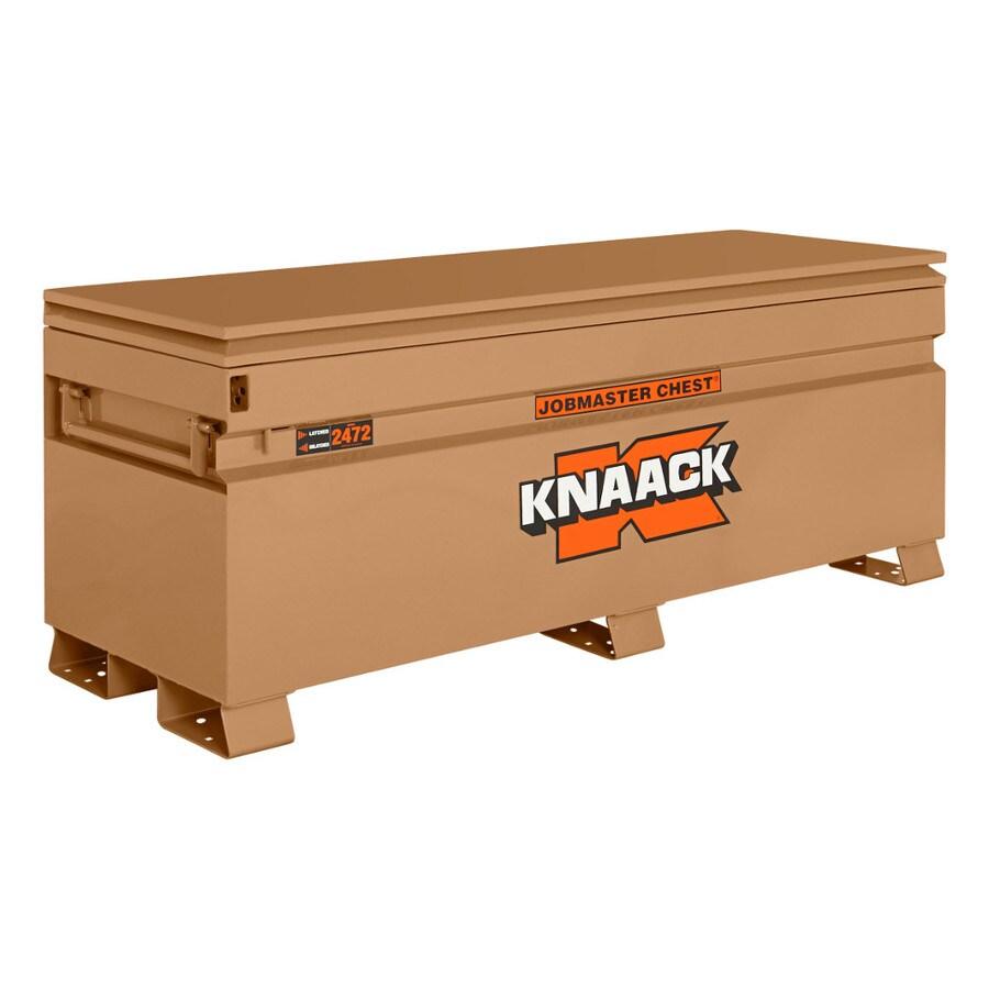 KNAACK 24-in W x 72-in L x 28.25-in Steel Jobsite Box