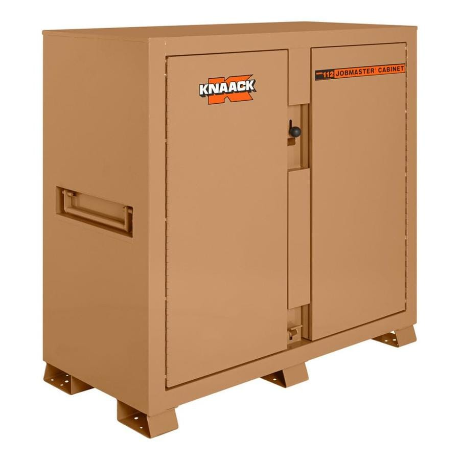 KNAACK 30-in W x 60-in L x 60-in Steel Jobsite Box