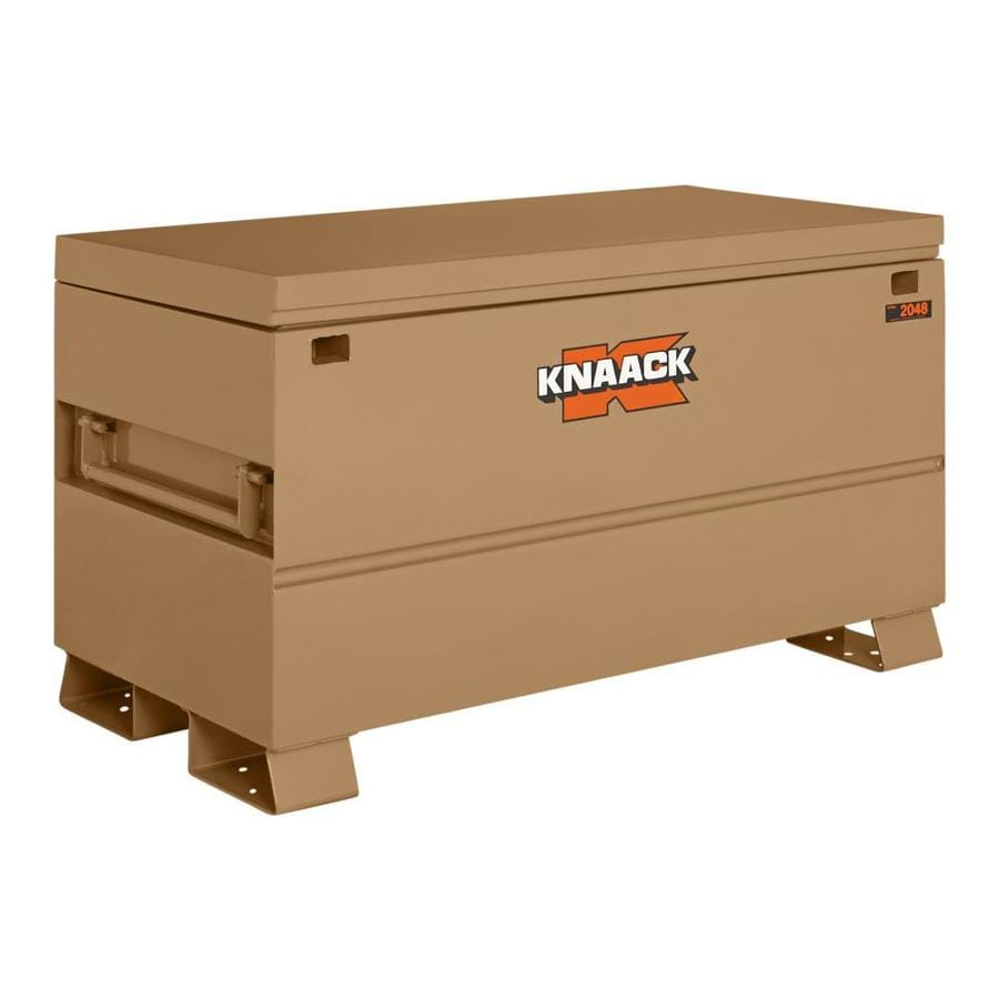 KNAACK 24-in W x 48-in L x 28-in Steel Jobsite Box