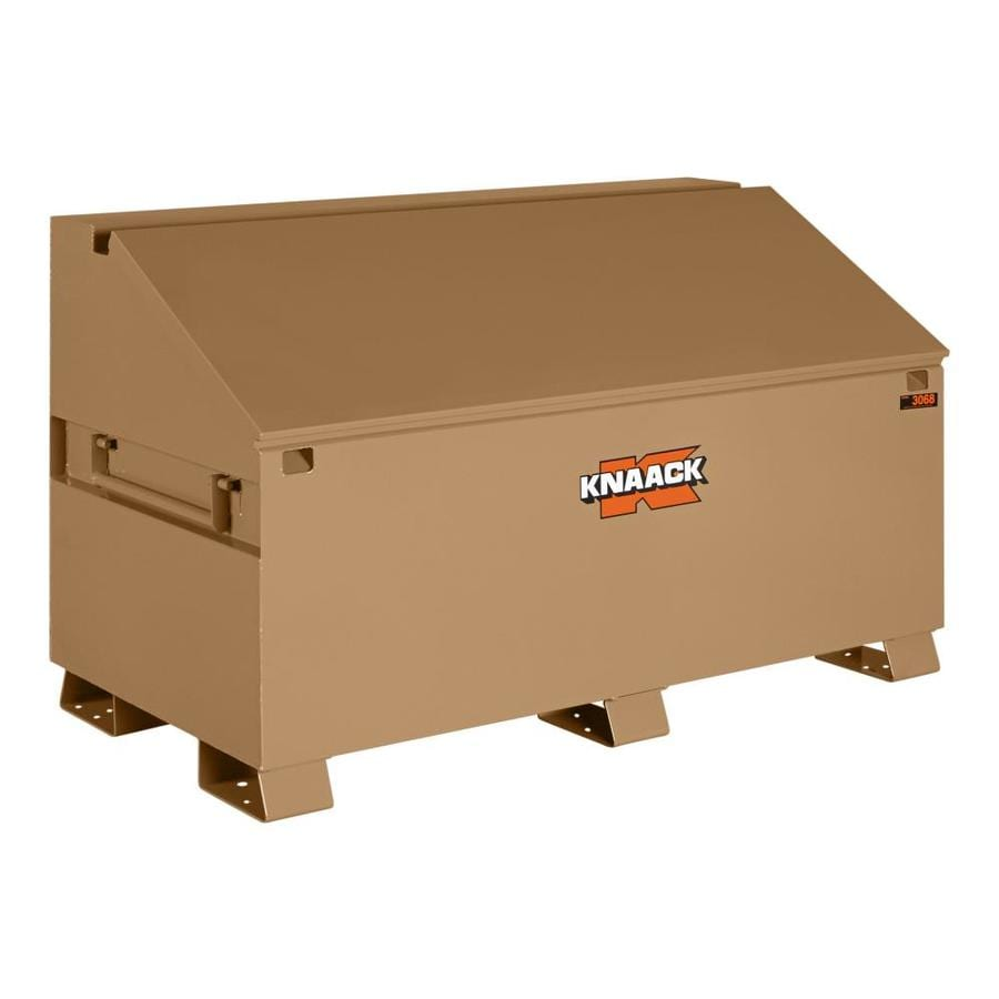 KNAACK 30-in W x 60-in L x 28-in Steel Jobsite Box