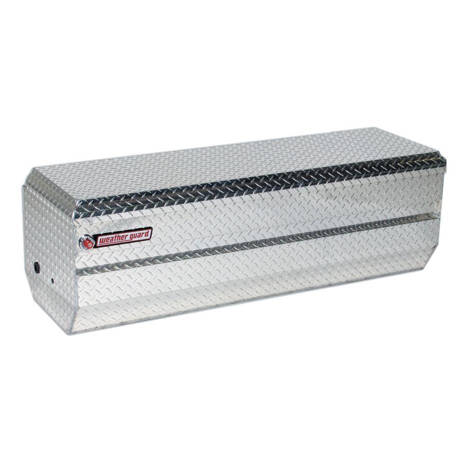WEATHER GUARD 62-in x 20-in x 19.25-in Silver Aluminum Universal Truck Tool Box