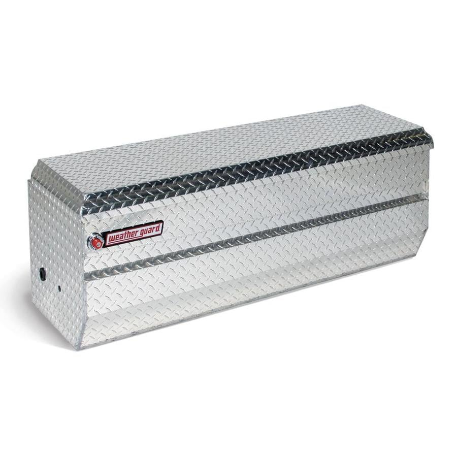 WEATHER GUARD 47-in x 20.25-in x 19.25-in Silver Aluminum Universal Truck Tool Box