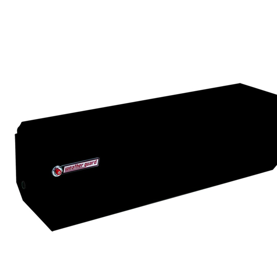 WEATHER GUARD 62-in x 20-in x 19.25-in Black Steel Universal Truck Tool Box