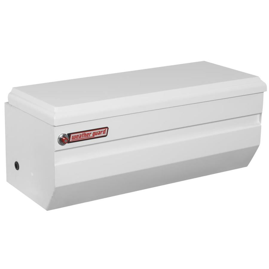WEATHER GUARD 47-in x 20.25-in x 19.25-in White Steel Universal Truck Tool Box