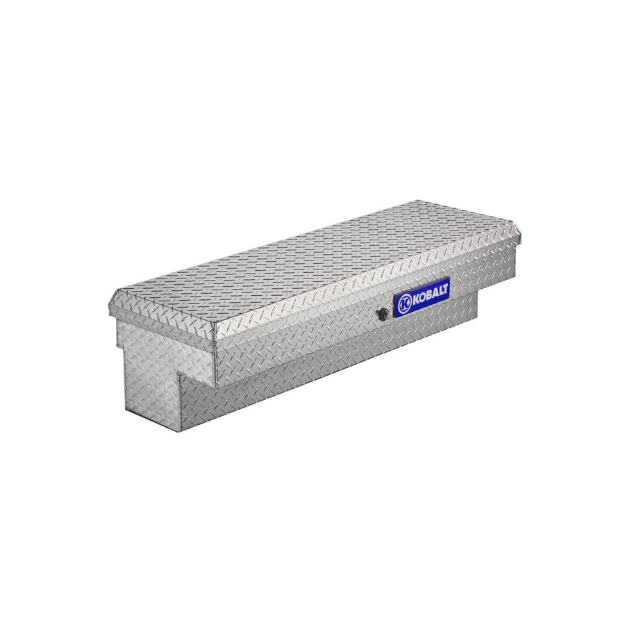 Kobalt 46.9-in x 15.8-in x 13-in Aluminum Universal Truck Tool Box