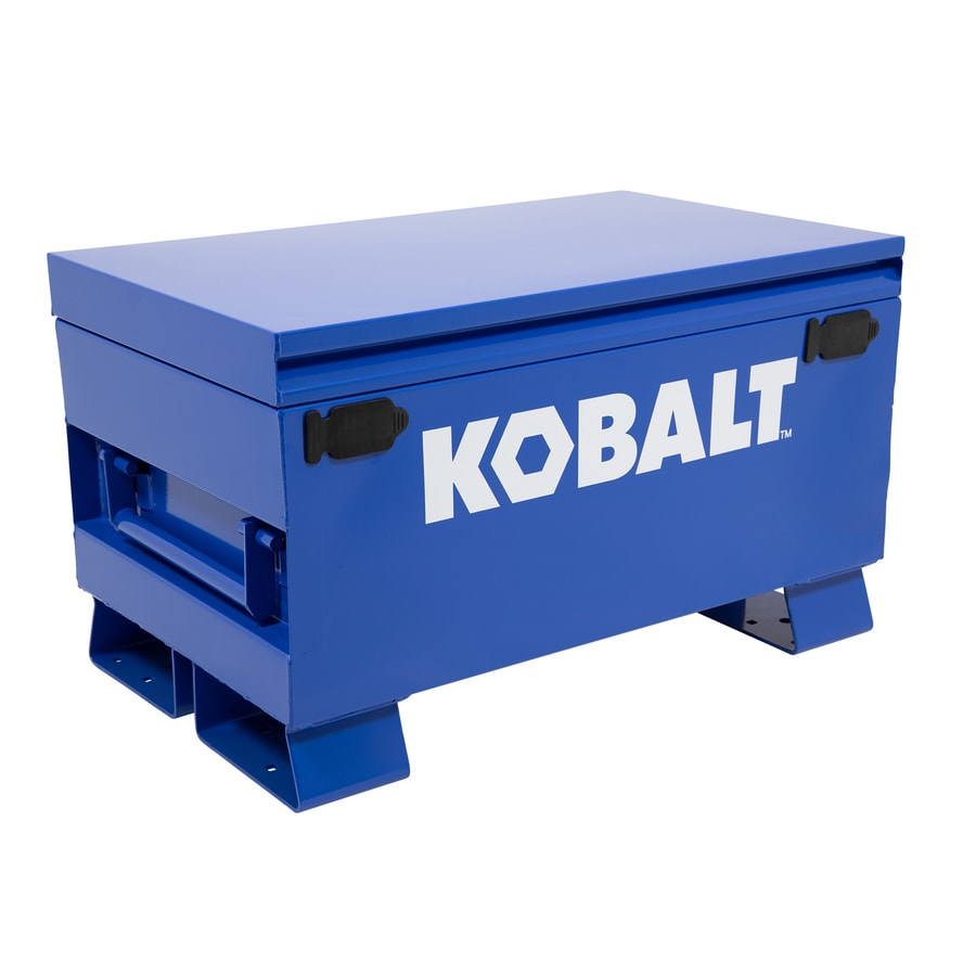 Kobalt 19-in W x 32-in L x 18-in Steel Jobsite Box